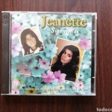 CDs de Música: JEANETTE, SIGO REBELDE, 2 CDS. Lote 192102802