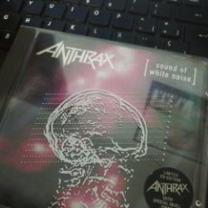 CDs de Música: ANTHRAX / CD / SOUND OF WHITE NOISE / ROCK / RAP / METAL / THRASH. Lote 192103676