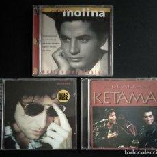 CDs de Música: LOTE 3 CD FLAMENCO ANTONIO MOLINA - CALAMARO - KETAMA. Lote 192114320