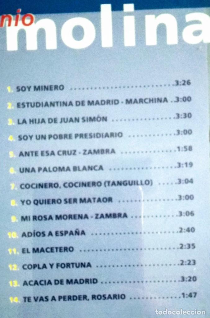 CDs de Música: Lote 3 CD flamenco ANTONIO MOLINA - CALAMARO - KETAMA - Foto 3 - 192114320