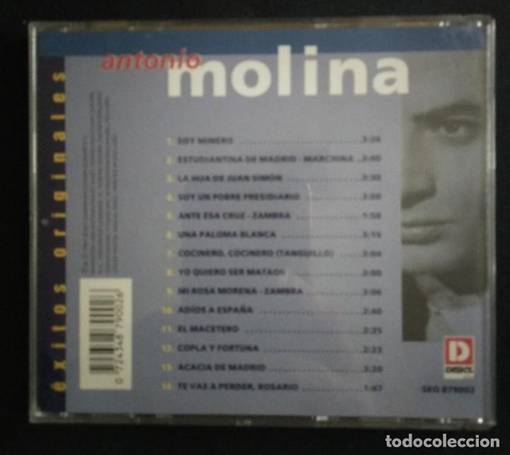 CDs de Música: Lote 3 CD flamenco ANTONIO MOLINA - CALAMARO - KETAMA - Foto 4 - 192114320