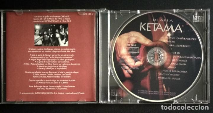 CDs de Música: Lote 3 CD flamenco ANTONIO MOLINA - CALAMARO - KETAMA - Foto 8 - 192114320