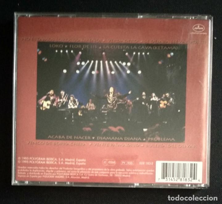CDs de Música: Lote 3 CD flamenco ANTONIO MOLINA - CALAMARO - KETAMA - Foto 10 - 192114320