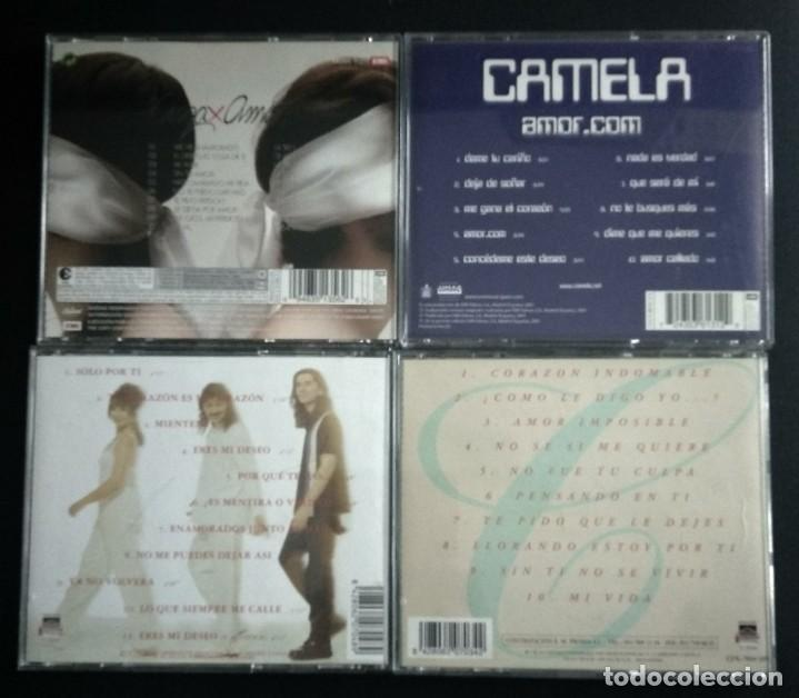 CDs de Música: Lote 4 CD CAMELA - Foto 2 - 192117438