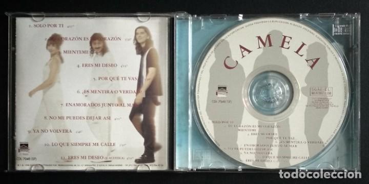 CDs de Música: Lote 4 CD CAMELA - Foto 5 - 192117438