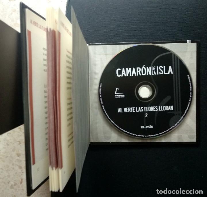 CDs de Música: Lote 3 CD CAMARON DE LA ISLA (2 CD-libro y 1 CD-DVD) - Foto 3 - 192119400