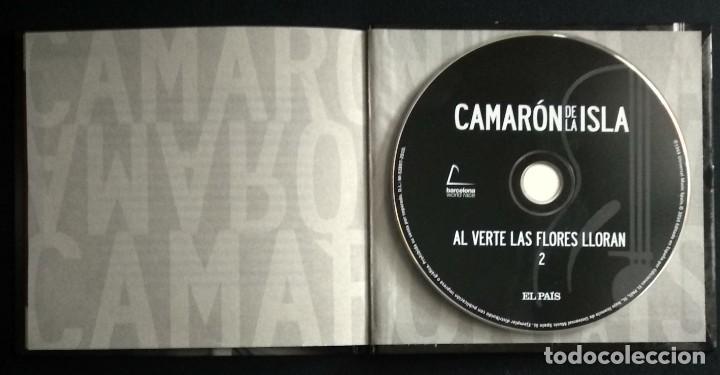 CDs de Música: Lote 3 CD CAMARON DE LA ISLA (2 CD-libro y 1 CD-DVD) - Foto 4 - 192119400