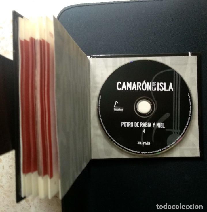 CDs de Música: Lote 3 CD CAMARON DE LA ISLA (2 CD-libro y 1 CD-DVD) - Foto 5 - 192119400