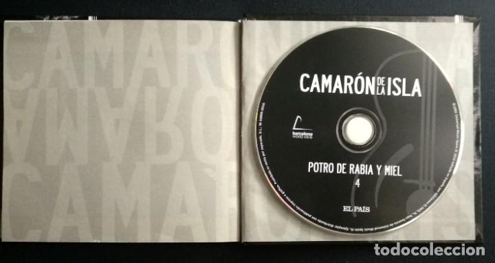 CDs de Música: Lote 3 CD CAMARON DE LA ISLA (2 CD-libro y 1 CD-DVD) - Foto 6 - 192119400