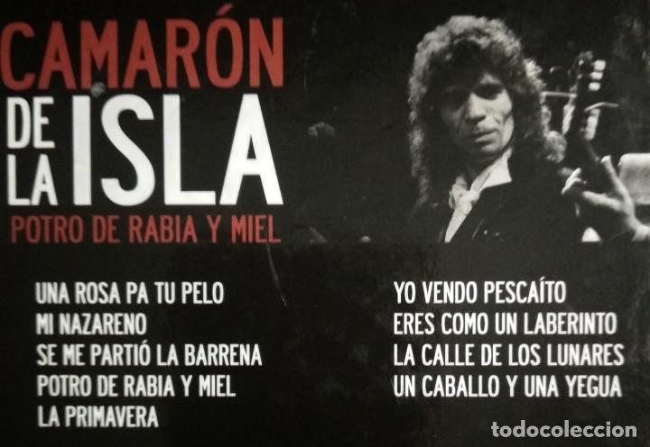 CDs de Música: Lote 3 CD CAMARON DE LA ISLA (2 CD-libro y 1 CD-DVD) - Foto 8 - 192119400