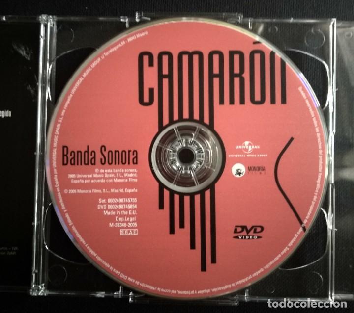 CDs de Música: Lote 3 CD CAMARON DE LA ISLA (2 CD-libro y 1 CD-DVD) - Foto 10 - 192119400