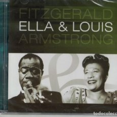 CDs de Musique: ELLA FITZGERALD WITH LOUIS ARMSTRONG - ELLA AND LOUIS (CD, SUM RECORDS 2004). Lote 192126232