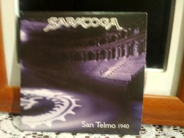 SARATOGA SAN TELMO 1940 CD SINGLE PROMOCIONAL 2003 PEPETO (Música - CD's Rock)