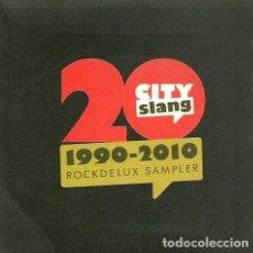 CDs de Música: ROCKDELUX - CITY SLANG 90-10. Lote 192147682