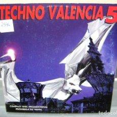 CDs de Música: LOTE DE 5 CD - TECHNO TRANCE ALL STARS MEGAMIX VALENCIA 5. Lote 192169328