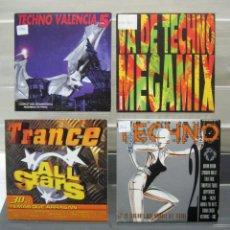 CDs de Música: LOTE DE 5 CD TECHNO TRANCE ALL STARS MEGAMIX VALENCIA 5. Lote 192169328