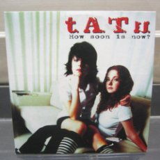 CDs de Música: T.A.T.U. ?– HOW SOON IS NOW?. Lote 192174065