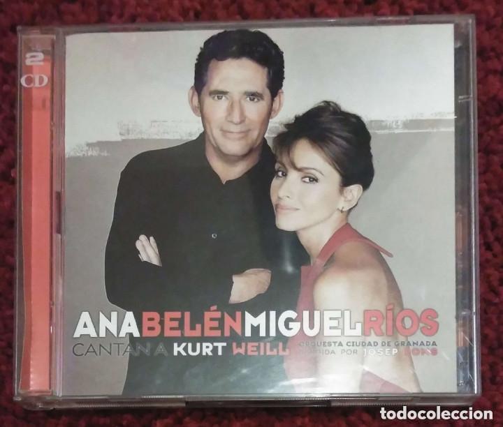 ANA BELEN Y MIGUEL RIOS (CANTAN A KURT WEILL) 2 CD'S 1999 (Música - CD's Melódica )
