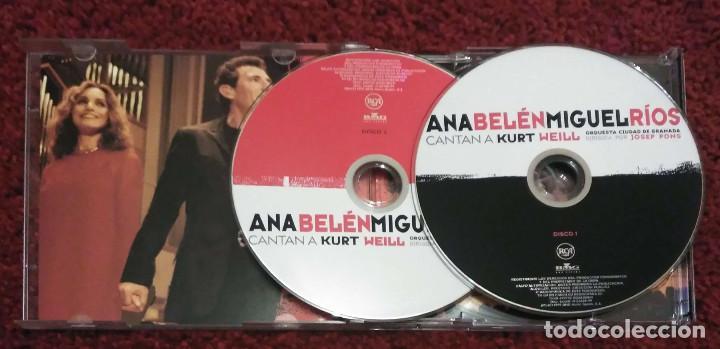 CDs de Música: ANA BELEN Y MIGUEL RIOS (CANTAN A KURT WEILL) 2 CDs 1999 - Foto 3 - 192175640