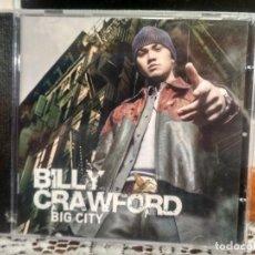 CDs de Música: BILLY CRAWFORD BIG CITY CD ALBUM PRECINTADO PEPETO. Lote 192179241