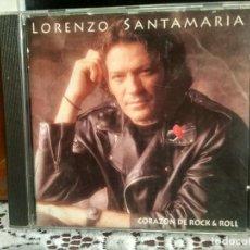 CD de Música: LORENZO SANTAMARÍA - CORAZÓN DE ROCK & ROLL - CD 1995 PEPETO. Lote 192181107