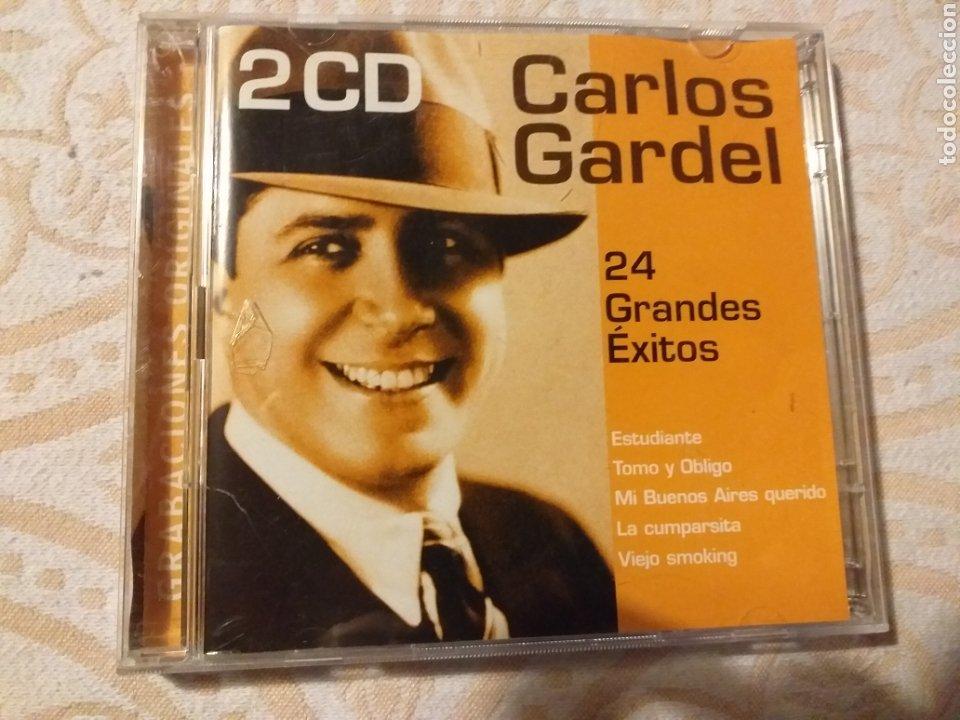 2 CD CARLOS GARDEL 24 GRANDES EXITOS (Música - CD's Latina)