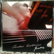 CDs de Música: JUAKY TANTAS HISTORIAS CD ALBUM 2009 ASTURIAS PEPETO. Lote 192195312