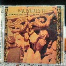 CDs de Música: MUYERES II DOBLE CD DANCES , BAILES, ROMANCES Y CANTARES ASTURIES 1997 ASTURIAS. Lote 192195612