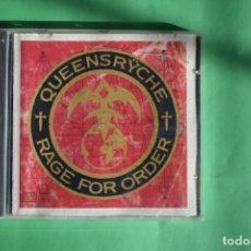 CDs de Música: QUEENSRYCHE-RAGE FOR ORDER. Lote 192219935