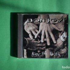 CDs de Música: BON JOVI-KEEP THE FAITH. Lote 192221266