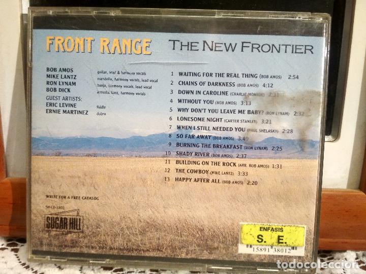 CDs de Música: FRONT RANGE THE NEW FRONTIER 1992 USA CD ALBUM PEPETO - Foto 2 - 192228293