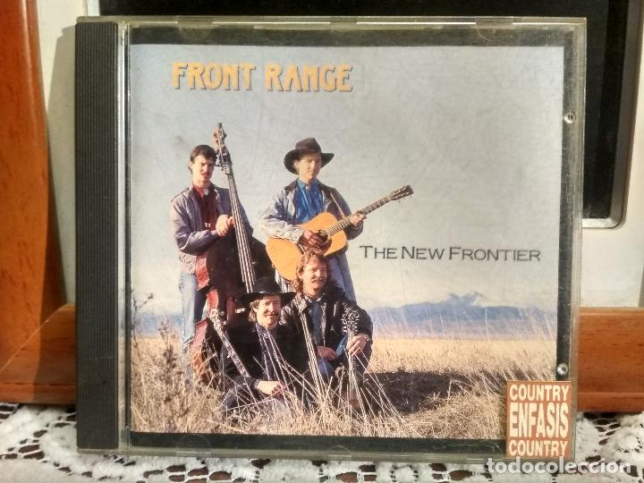 FRONT RANGE THE NEW FRONTIER 1992 USA CD ALBUM PEPETO (Música - CD's Country y Folk)