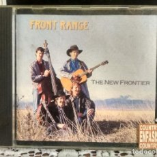 CDs de Música: FRONT RANGE THE NEW FRONTIER 1992 USA CD ALBUM PEPETO. Lote 192228293
