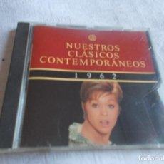 CDs de Música: NUESTROS CLÁSICOS CONTEMPORÁNEOS AÑO 1962. Lote 192229660