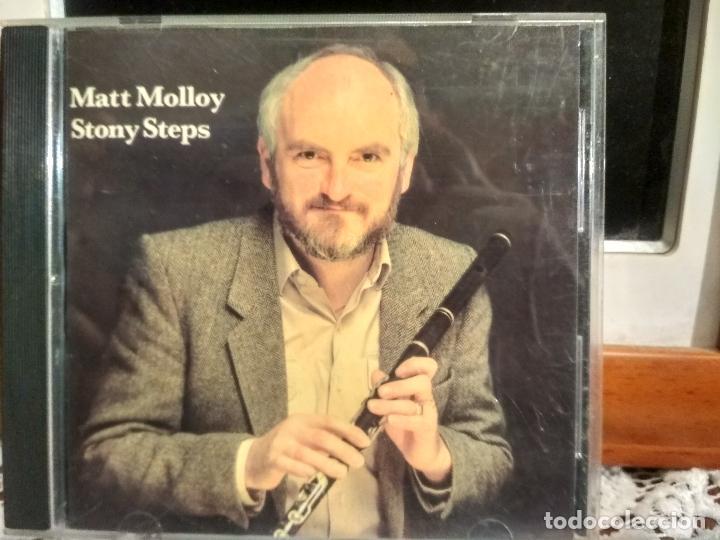 MATT MOLLOY STONY STEPS CD ALBUM USA 1987 PEPETO (Música - CD's Country y Folk)