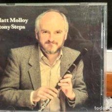 CDs de Música: MATT MOLLOY STONY STEPS CD ALBUM USA 1987 PEPETO. Lote 192230711