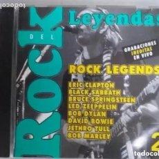 CDs de Música: LEYENDAS DEL ROCK 2 (CD) CLAPTON JETHRO TULL SPRINGSTEEN, LED ZEPPELIN, DYLAN, BOWIE, MARLEY. Lote 192234221