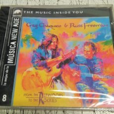 CDs de Música: CRAIG CHAQUICO & RUSS FREEMAN - FROM THE RED WOODS TO THE ROCKIES. Lote 192274955