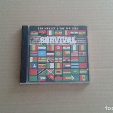 CDs de Música: BOB MARLEY AND THE WAILERS - SURVIVAL CD. Lote 192280241