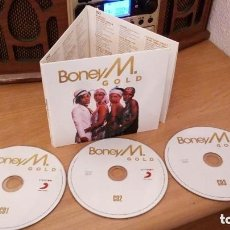 CDs de Música: BONEY M: GOLD - 3 CDS DIGIPACK *IMPECABLE COMO NUEVO*. Lote 192280797