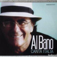 CDs de Música: AL BANO CANTA ITALIA. Lote 192285298