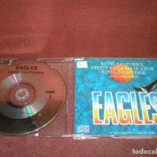 CDs de Música: CD SINGLE EAGLES / HOTEL CALIFORNIA 3 TRACKS CAJA FINA PLASTICO. Lote 192287948