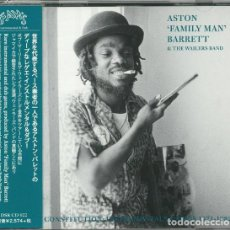 CDs de Música: ASTON 'FAMILY MAN' BARRETT & THE WAILERS BAND - SOUL CONSTITUTION: INSTRUMENTALS & DUBS 1971 - 1982. Lote 192295260