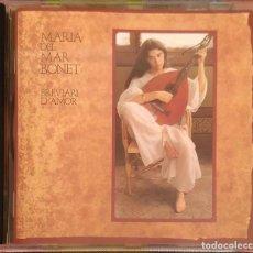 CDs de Música: MARIA DEL MAR BONET (BREVIARI D'AMOR) REEDICIÓN CD 1996 DE SU LP 1982. Lote 192368748