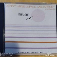 CDs de Música: DENNY LAINE WITH PAUL MCCARTNEY AND FRIENDS (IN FLIGHT) CD 1991. Lote 192374713