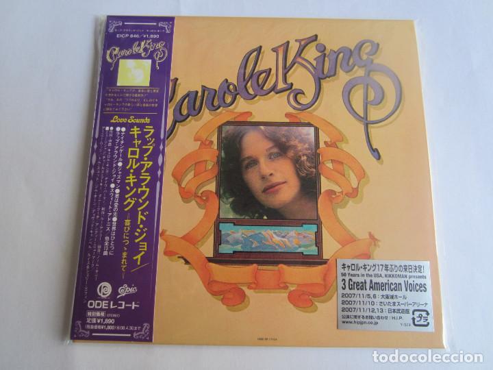 CAROLE KING - WRAP AROUND JOY + 1 BONUS 1974/2007 JAPAN MINI LP PAPERSLEEVE CARDBOARD CD EICP-846 (Música - CD's Pop)
