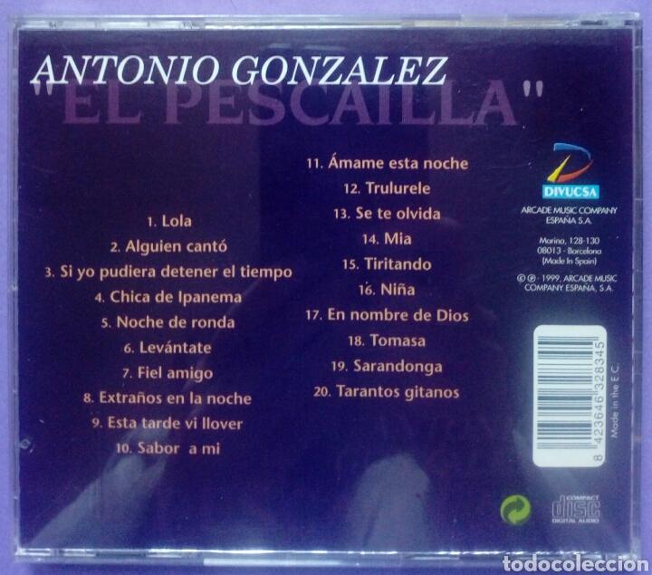 CDs de Música: Homenaje a Antonio Gonzalez - El Pescailla - El patriarca de la rumba - Foto 2 - 192378801