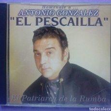 CDs de Música: HOMENAJE A ANTONIO GONZALEZ - EL PESCAILLA - EL PATRIARCA DE LA RUMBA. Lote 192378801
