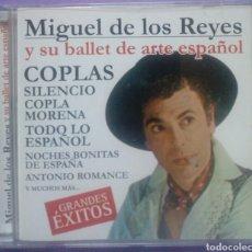 CDs de Música: MIGUEL DE LOS REYES Y SU BALLET DE ARTE ESPAÑOL - COPLAS. Lote 192380833