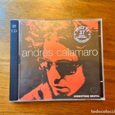 CDs de Música: DOBLE CD ÁLBUM (2 CD): ANDRÉS CALAMARO - HONESTIDAD BRUTAL - 37 TRACKS - WARNER MUSIC ARGENTINA 1999. Lote 192403206